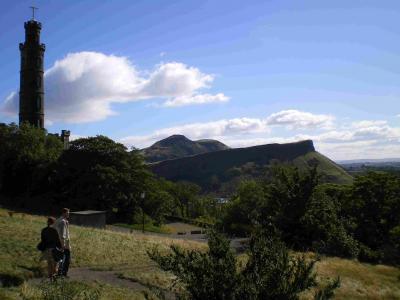 エディンバラの丘陵