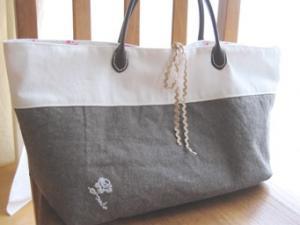 stitch tote bag 2