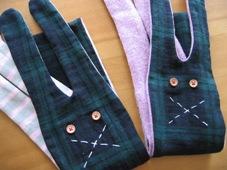 2007-1 rabbit scarf