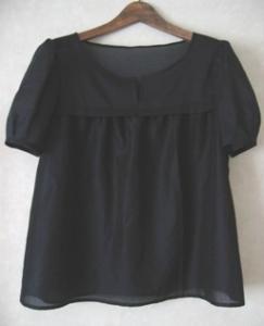 tsubomi sleeve blouse
