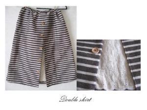 double skirt a-2