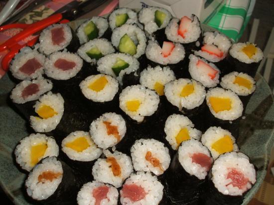 おうち手巻き寿司2