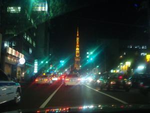東京タワーみえました~いくか~