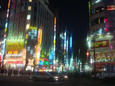 新宿東口靖国通り