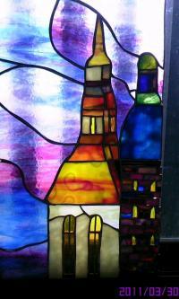 ステンドグラス教会