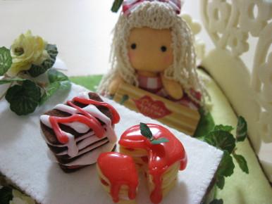 peachさんとコラボ ケーキ