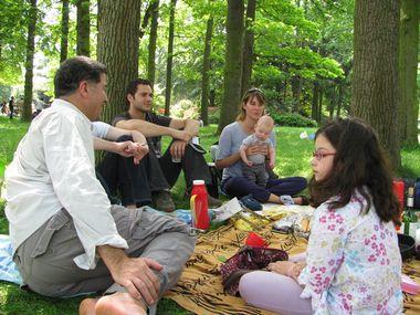 子沢山なピクニック