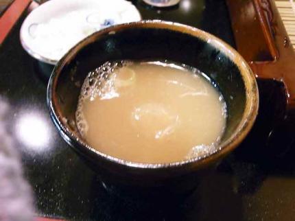 10-1-21 蕎麦湯