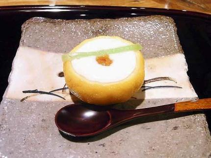 10-1-31 1鱈白子柚子釜むし