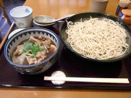 10-2-17 舞茸肉汁そば