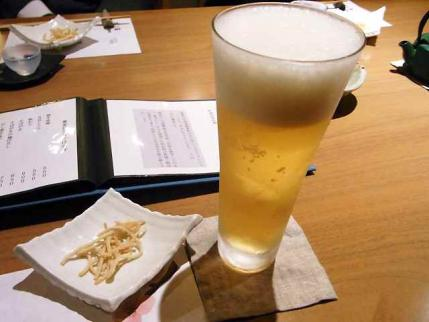 10-3-15夜 ビール