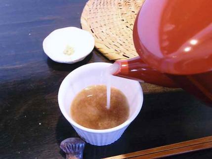 10-3-17 蕎麦湯