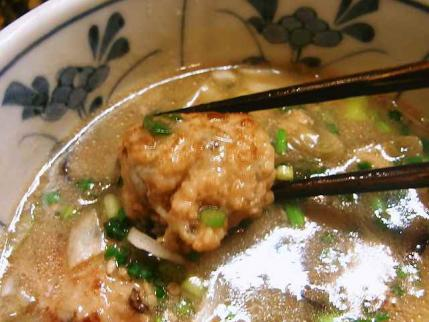 10-4-2 鶏味噌のつみれ