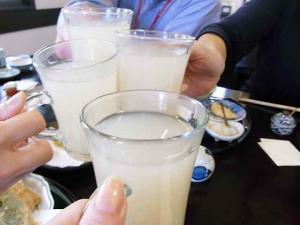 10-4-24 蕎麦湯わり乾杯