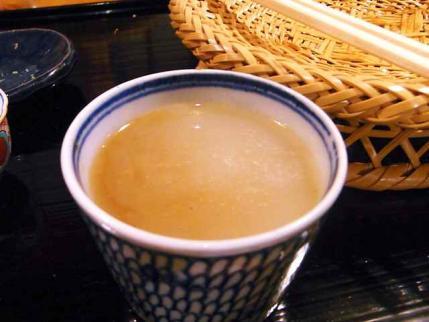 10-4-25 蕎麦湯