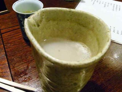 10-5-31 蕎麦湯