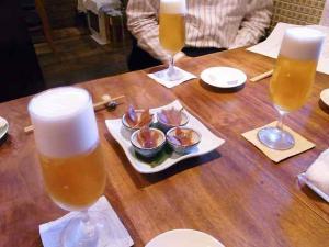 10-6-17夜 ビール