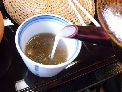 10-6-20 蕎麦湯そそぎ