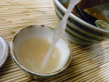 10-7-15 蕎麦湯