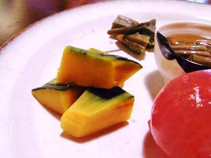 10-7-16 夏野菜 かぼちゃ