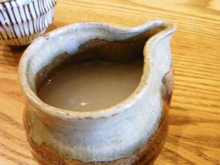 10-7-22 蕎麦湯