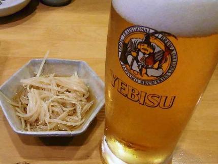 10-7-23夜 ビール