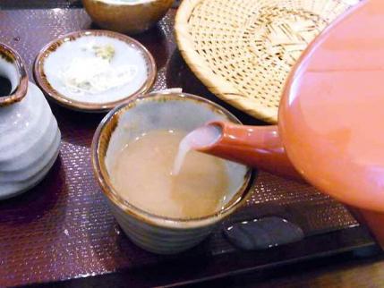 10-8-30 蕎麦湯