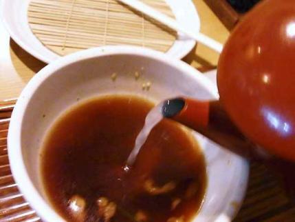 10-9-17 蕎麦湯そそぎ