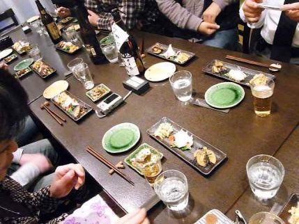 10-11-16夜 宴のテーブル
