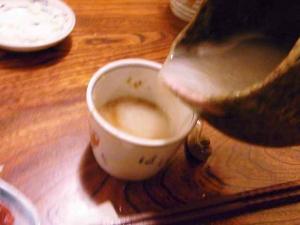 10-11-26 蕎麦湯