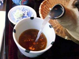 11-1-18 蕎麦湯