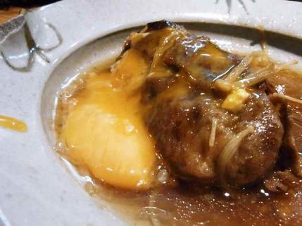 11-1-21・肉豆腐玉子かけ