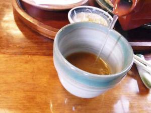 11-1-29 蕎麦湯