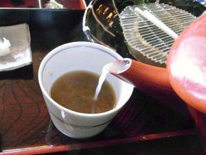 11-2-3 蕎麦湯