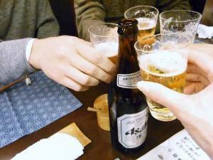 11-2-9 ビア乾杯