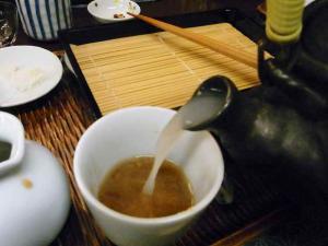 11-2-9 蕎麦湯