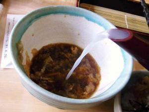 11-2-18 蕎麦湯