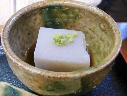 11-3-4 蕎麦豆腐山葵