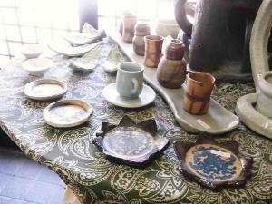 11-3-4 玄関の陶器