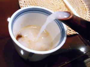 11-3-21 蕎麦湯
