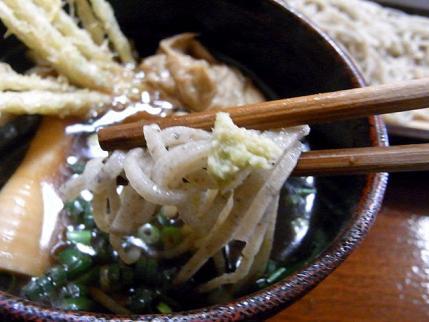 11-3-24 蕎麦に山葵