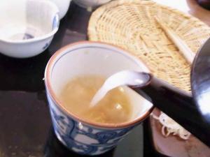 11-3-30 蕎麦湯