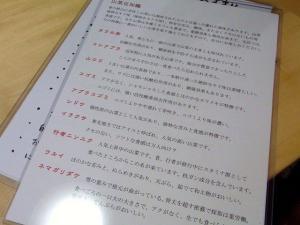 11-5-11 品山菜について