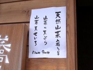 11-5-11 品壁山菜