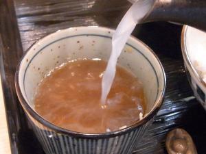 11-5-18 蕎麦湯