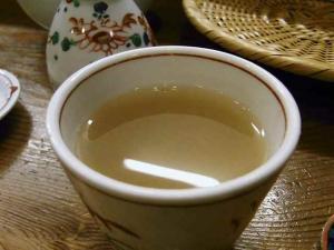 11-5-19夜 蕎麦湯