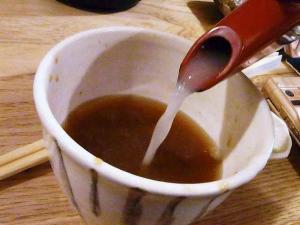 11-6-6 蕎麦湯