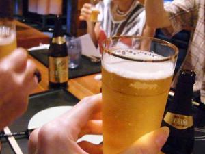 11-7-3 ビア乾杯