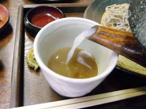 11-8-24 蕎麦湯