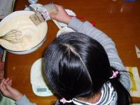 チョコ菓子作り
